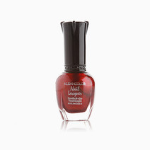 Frost Your Nails: Jewelry Red Nail Lacquer by Kleancolor