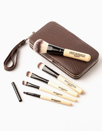 5-Piece Travel Brush Kit by Krist Bansuelo