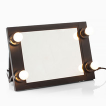 Four-Bulb Vanity Mirror by Beauty Box