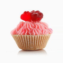 Strawberry Sorbet Cupcake Soap by The Soap Farm