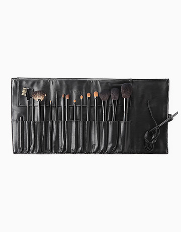 16-Piece Personal Brush Set by Suesh
