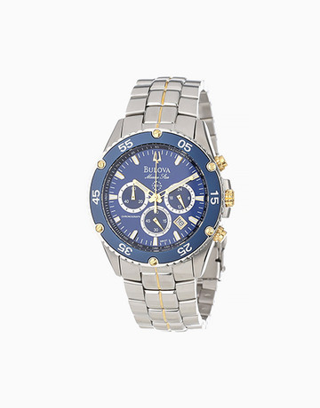 Marine Star Watch (Silver) by Bulova