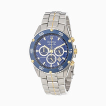 Marine Star Watch (Silver) by Bulova