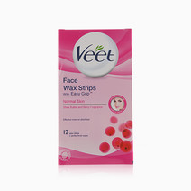 Face Wax Strips Easy Grip  by Veet