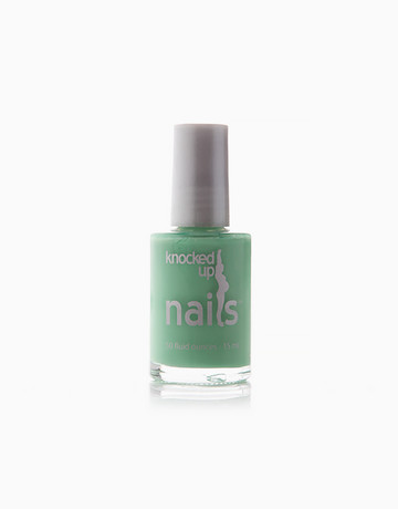 Mint Chip at Midnight Polish by Knocked Up Nails