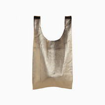 Small Leather Bag by Baggu