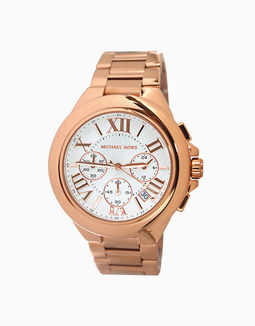 Camille Rose Gold-Tone Watch by Michael Kors