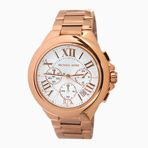 Camille Rose Gold-Tone Chronograph Watch (MK5757) by Michael Kors