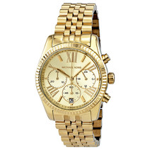 Lexington Gold PVD Watch by Michael Kors