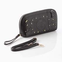 Leather Clutch by T.U.