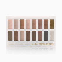 16 Color Eyeshadow Palette by L.A. Colors