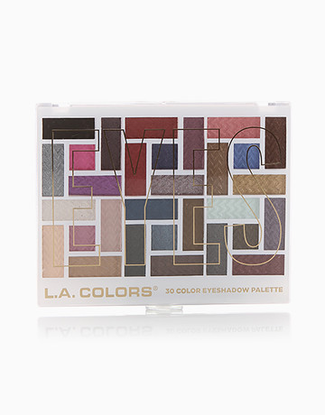 30 Color Eyeshadow Palette by L.A. Colors Products | BeautyMNL