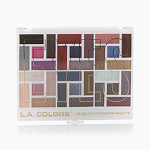 30 Color Eyeshadow Palette by L.A. Colors
