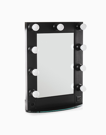 9 Lamps LED Mirror by Suesh