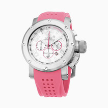 Prism Sports Chronograph Watch (Baby Pink) by Max XL