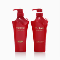 Shiseido Tsubaki Extra Moist Shampoo & Conditioner Set by Shiseido
