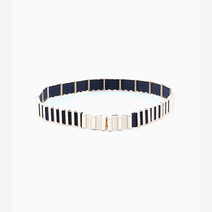 Multi Gold Bar Belt by Luxe Studio