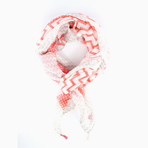 Mixed Chevron Scarf by Luxe Studio