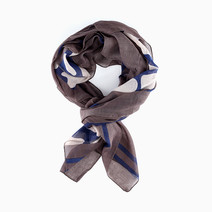 Semi-Animal Print Scarf by Luxe Studio