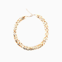 Short Leaf Necklace by Luxe Studio