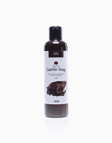 Cacao Dark Castile Soap by Casa de Lorenzo