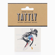 Peacock by Tattly