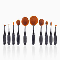 10-Piece Expert Class Oval and Linear Brush Set by PRO STUDIO Beauty Exclusives