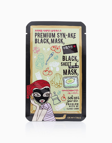 Premium Syn-ake Black Mask by Dewytree