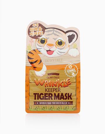 Wrinkle Keeper Tiger Mask by Dewytree