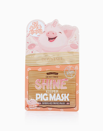 Shine Keeper Pig Mask by Dewytree