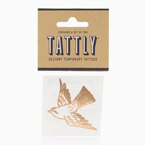 Cartolina Bird (Gold) by Tattly