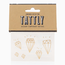 Diamonds (Gold) by Tattly