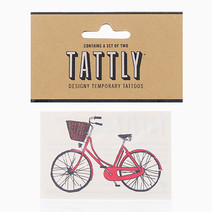 Red Bike by Tattly