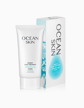 Daily Balance Whitening Foam by OCEAN SKIN