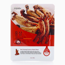 Red Ginseng Essence Mask Sheet (10 Pieces) by Esfolio