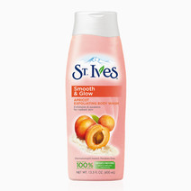 St. Ives Body Wash Smooth & Glow Apricot 13.5oz by St. Ives