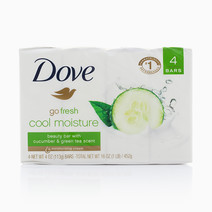 Fresh Cool Moisture (4 Bars) by Dove