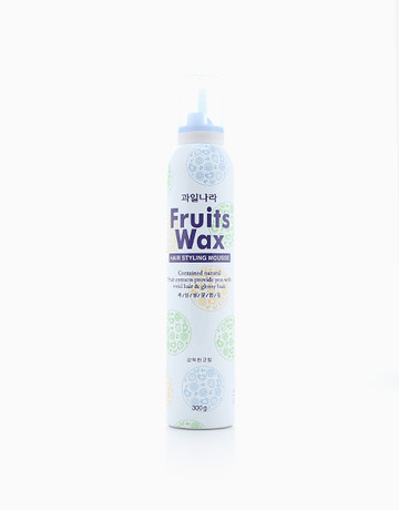 Fruits Wax Hairstyling Mousse by Fruit Wax