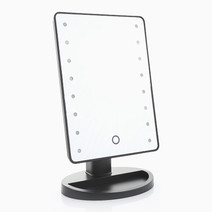 LED Mirror w/ Magnifier by Suesh