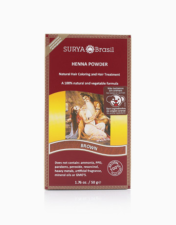 Henna Powder (Brown) by Surya Brasil