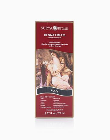 Henna Hair Cream (Black) by Surya Brasil