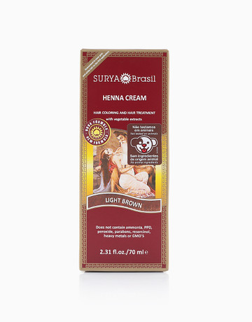 Hair Cream (Light Brown) by Surya Brasil