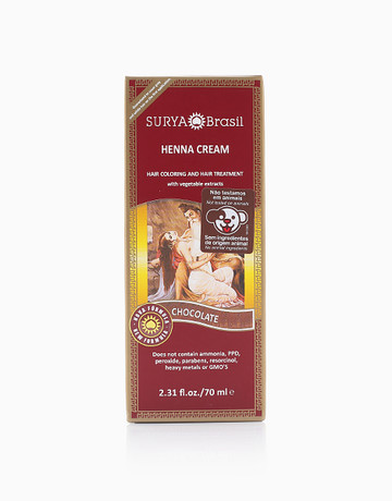 Henna Hair Cream (Chocolate) by Surya Brasil