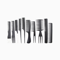 Hairstyling Combs (10-Piece Set) by Suesh in