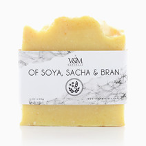 Of Soya, Sacha & Bran Beauty Bar by V&M Naturals