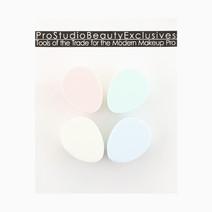 Flat Egg-Shaped Sponge Set by PRO STUDIO Beauty Exclusives