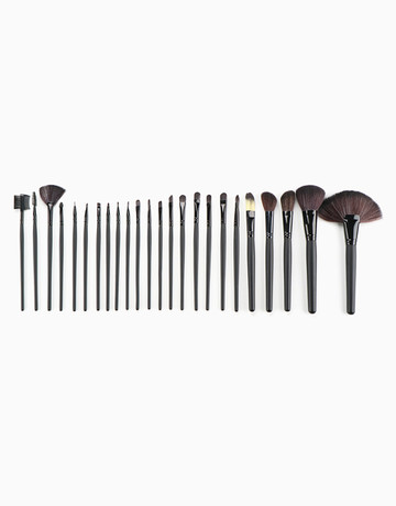 24-Piece Makeup Brush Set by Brush Work