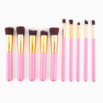 10-Piece Makeup Brush Set by Brush Work