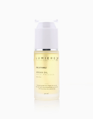 Cold-Pressed Argan Oil (50ml) by Lumiere Organiceuticals