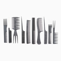 10-Piece Styling Comb Set by Stylista Hair Essentials